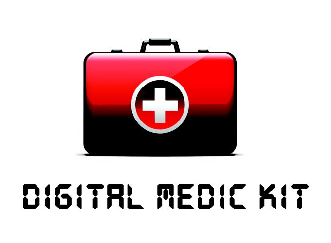 Digital First Aid red